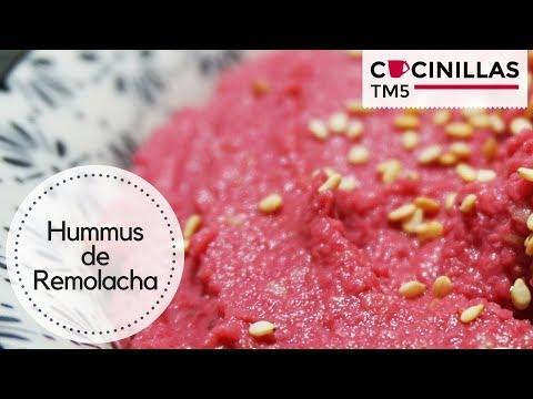 Hummus de Remolacha   Recetas Thermomix