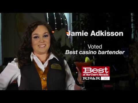Jamie Adkisson voted Best Casino Bartender