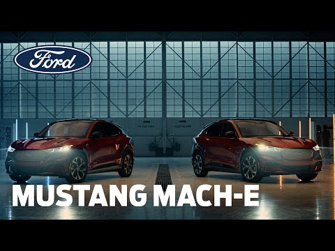 MUSTANG MACH-E v DNA | Personalised and Adaptive Technology | Ford