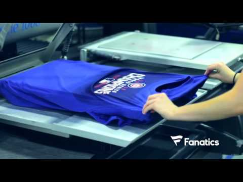 First Chicago Cubs 2016 World Series Shirts Coming Off The Line