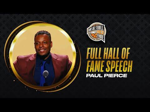 Paul Pierce | Hall of Fame Enshrinement Speech