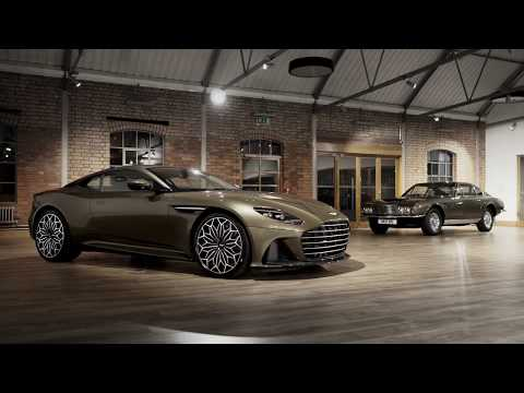 Aston Martin On Her Majesty?s Secret Service DBS Superleggera Special Edition