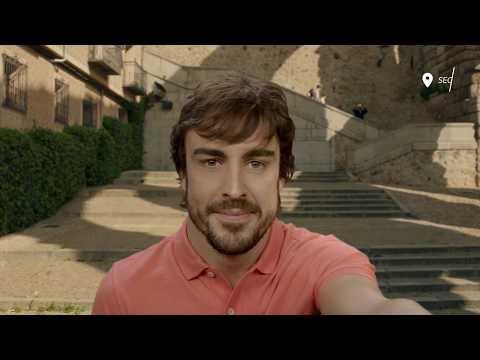 Is it possible to fall in love in 10 sec? Fernando Alonso - Reto #SpainIn10sec