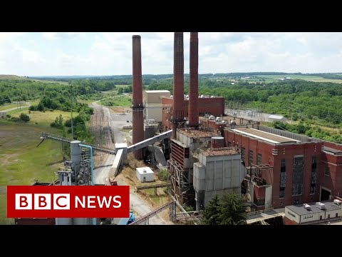 Inside the bitcoin mine with its own power plant - BBC News