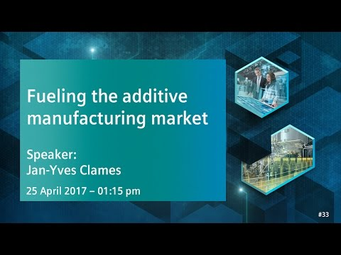 Fueling the additive manufacturing market – supporting customers and OEMs | 25 April 2017 - 1:15 pm
