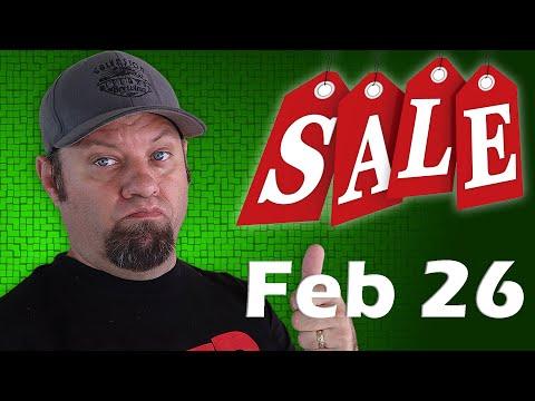 Ham Radio Shopping Deals for February 26th