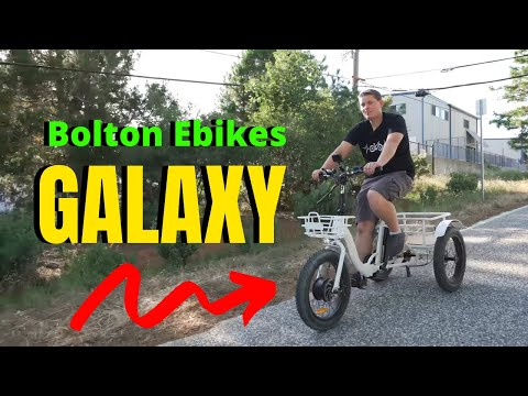 Drifting An Electric Bike With Three Wheels