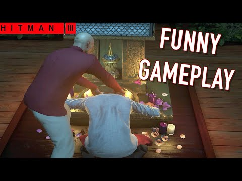 FUNNY  HITMAN 3 SIDE MISSIONS  GAMEPLAY #1
