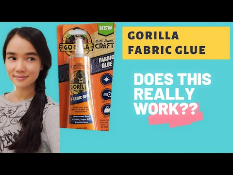 DOES GORILLA FABRIC GLUE REALLY WORK- YES OR NO?