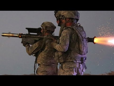 STINGER MISSILES and MACHINE GUNS! U.S. Marines in live-fire AIR DEFENSE training at Camp Lejeune.