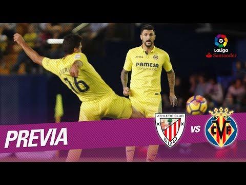 Previa Athletic Club vs Villarreal CF