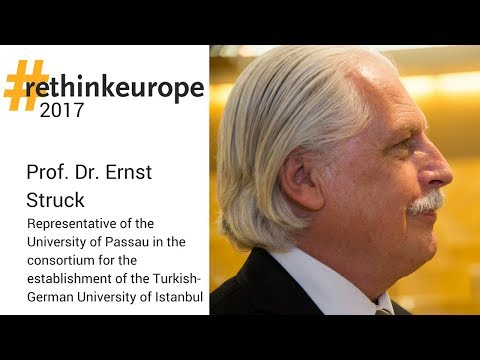 #rethinkeurope 2017 - Prof. Dr. Ernst Struck, University of Passau