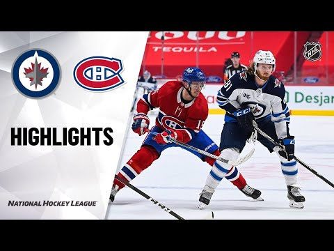 Jets @ Canadiens 4/8/21 | NHL Highlights