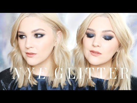 NEW YEAR'S EVE Glitter Makeup Tutorial | I Covet Thee