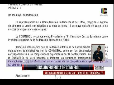 La dura advertencia de la CONMEBOL, ¿algunos clubes podrían ser eliminados