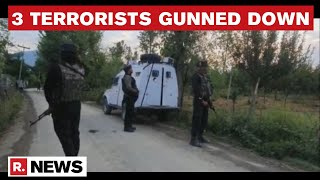 Forces Eliminate 3 Terrorists During Sopore Encounter Operation | Crackdown On Terror | Republic TV