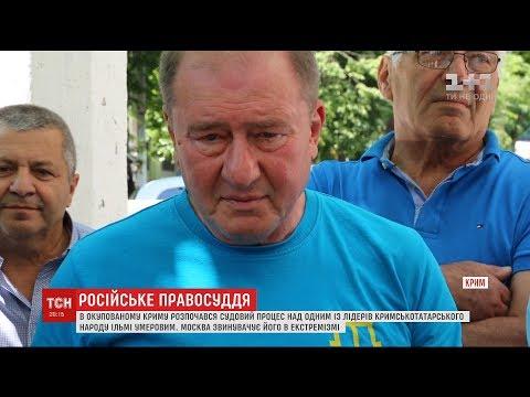 Москва звинувачує заступника голови Меджлісу Ільмі Умерова в екстремізмі
