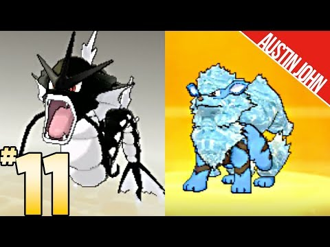 Black Gyarados, Alolan Arcanine, So Many Shinies & More! Pokemon ultraLOCKE EP11 | Austin John Plays