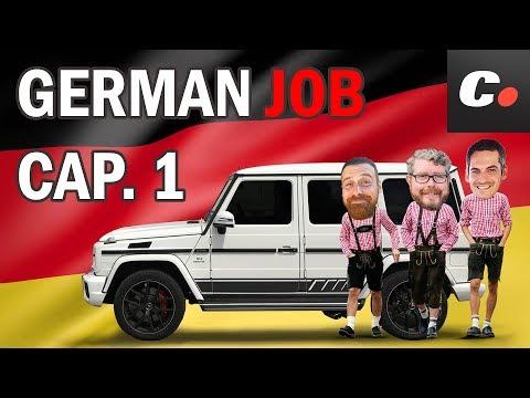 GERMAN JOB Cap. 1 | Viaje por Alemania con Mercedes-AMG G 63 | Prueba en español | coches.net