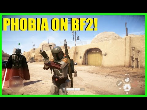 Star Wars Battlefront 2 - OMG PHOBIA IS PLAYING WITH ME! | HvsV time!