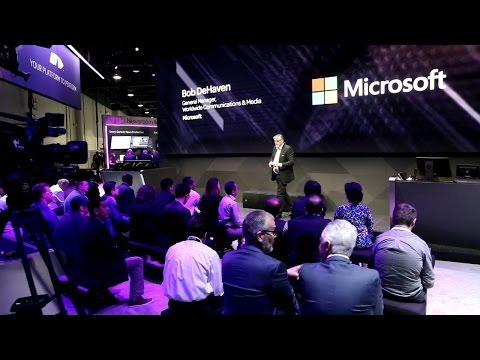 Avid at NAB Show 2017    Bob De Haven, Microsoft