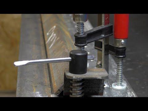 Самый простой станок из швеллера для обработки металла photo