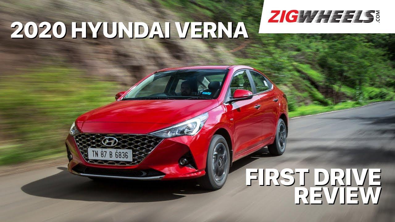 🚗 2020 Hyundai Verna Review I⛽ Petrol CVT I ZigWheels.com