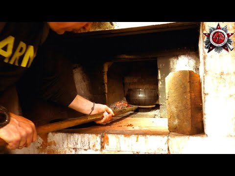Honey Bread And Baked Beans - Stone Oven Cooking At The Homestead