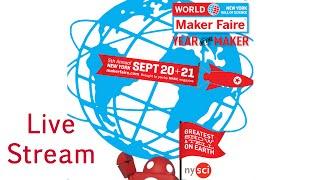 Live World Maker Faire in New York 2014 - Sunday