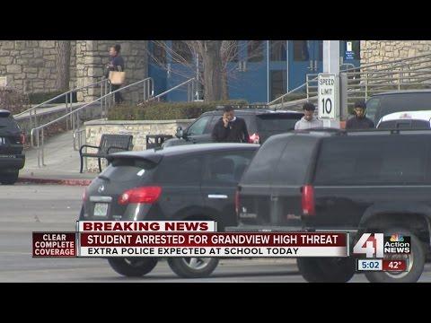 UPDATE: Juvenile taken into custody after threat towards Grandview High School