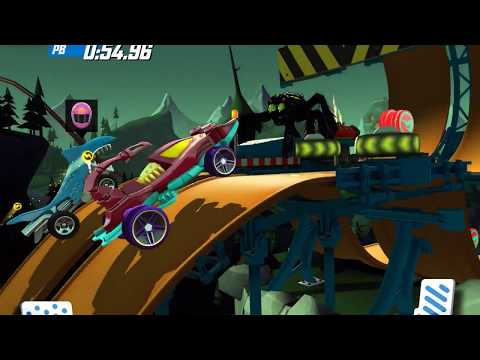 HOT WHEELS DAILY RACE OFF GAME Gameplay Android / iOS Scorpedo / Rodger Dodger / Cruise Bruiser