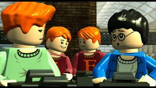 LEGO Harry Potter Years 1-4 Walkthrough Part 1 - Year 1 - 'The Magic Begins & Out of the Dungeon'