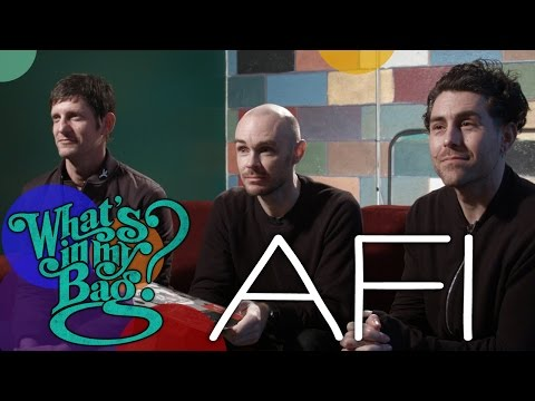 AFI - What's in My Bag?