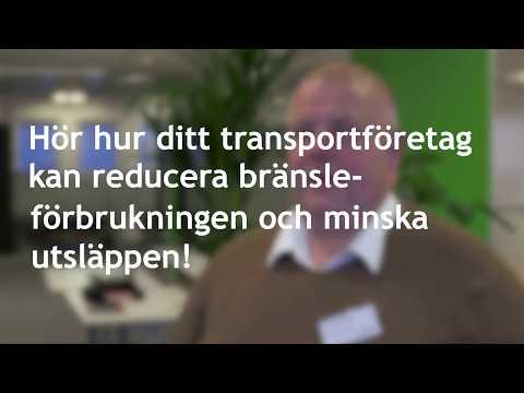 Kort introduktion till Sparsam Körning av Caj på Ahola Transports  (svensk text)