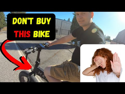 Is this the WORST electric bike review?