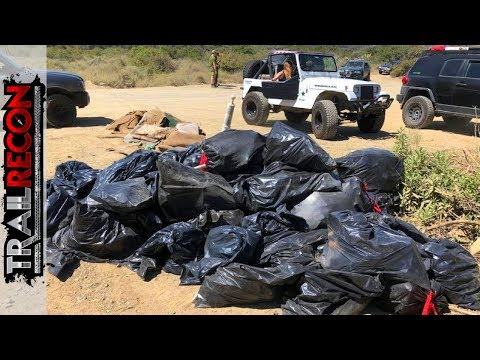So Much Trash on the Trail!