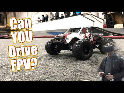 Goggles - Camera - Action! Drive First Person View RC - Dromida Monster Truck FPV Pack | RC Driver