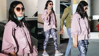 Rashmika Mandanna Spotted At Gym Today | Actress #RashmikaMandanna Latest Video | TFPC - TFPC