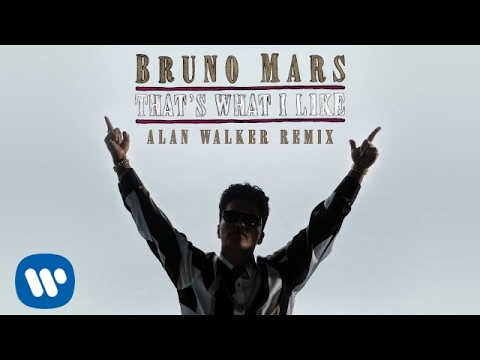 connectYoutube - Bruno Mars - That's What I Like (Alan Walker Remix) (Official Audio)