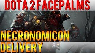 Dota 2 Facepalms - Necronomicon Delivery