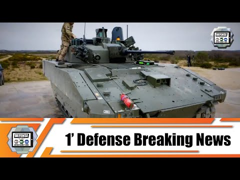 GDELS continues live fire trials Ajax 40mm reconnaissance tracked armored with members British Army