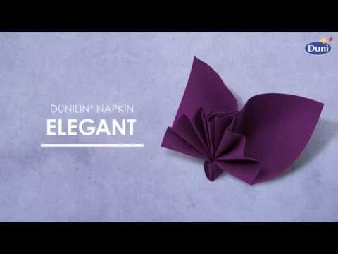 Napkin folding - Elegant