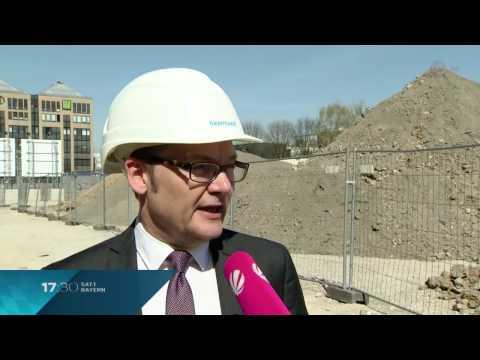 Sat.1 Bayern: Bayernwerk Natur versorgt Werksviertel München mit nachhaltiger Energie