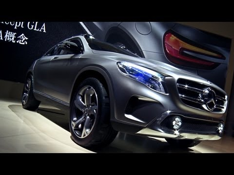 Mercedes-Benz Concept GLA Premiere Video