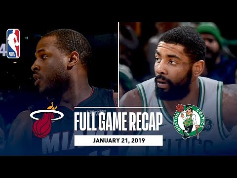 Full Game Recap: Heat vs Celtics | Kyrie Irving Records A New Career-High 8 Steals