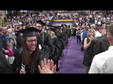 West Chester University 2017 Graduate Ceremony 5/13/17