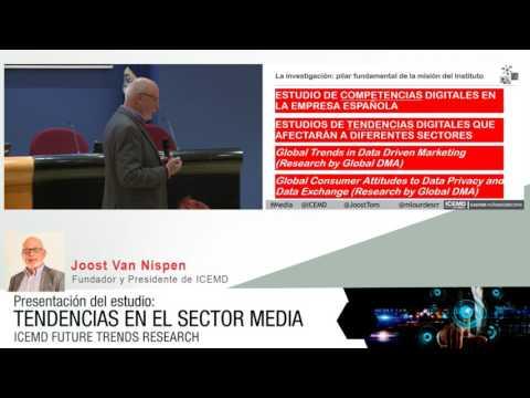 Tendencias más relevantes en el sector media. Joost van Nispen.