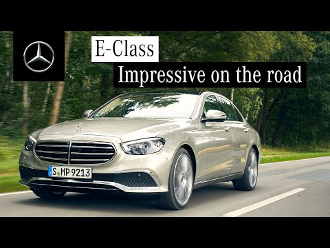 Driving Performance   Impressive Drive with the New E-Class