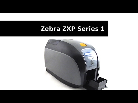 Zebra ZXP Series 1 Card Printer ZXP1 ID card Printer