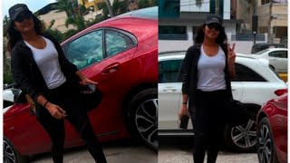 Actress Eesha Rebba Gym Outside @ Hyderabad Gym | TFPC - TFPC